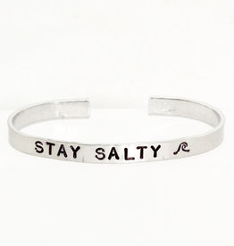 Nautically Northern Stay Salty Cuff