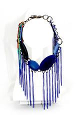 Veronica Riley Martens Rainbow Fringe Bracelet
