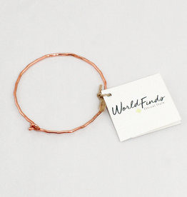 World Finds AC-981 Copper Ripple Bracelet