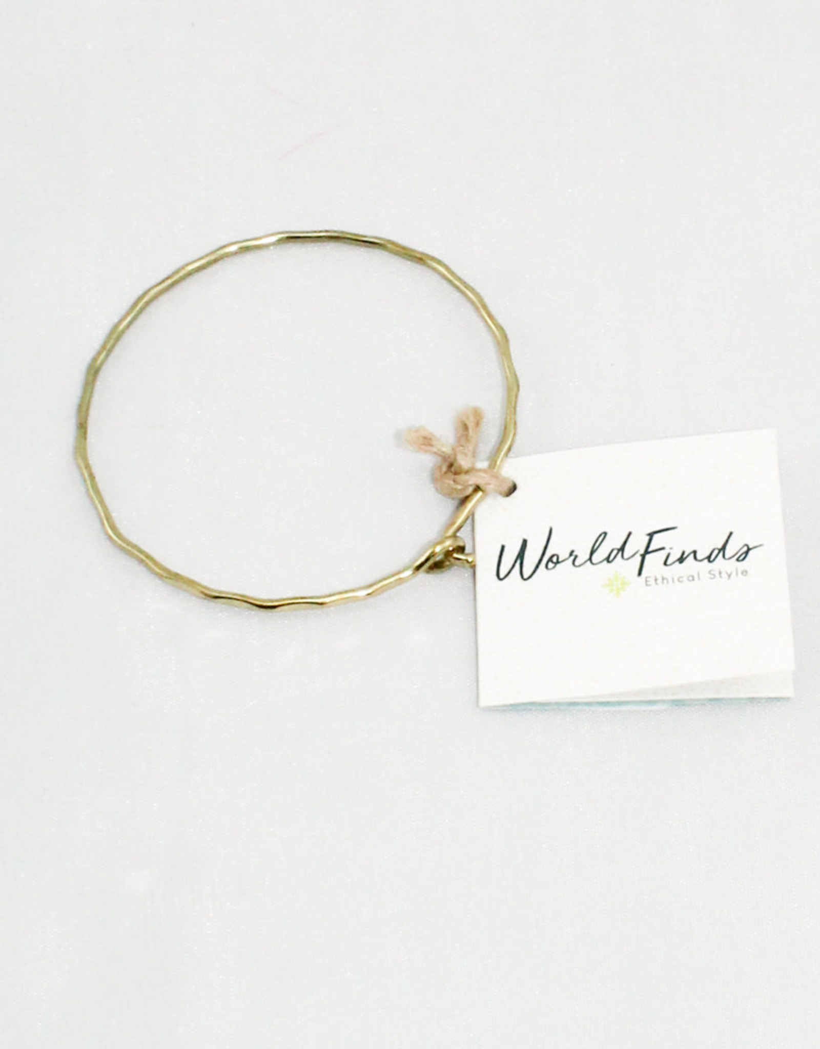 World Finds Gold Ripple Bracelet