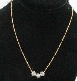 Crunchy Diva Designs Petite Glass Bubble Necklace