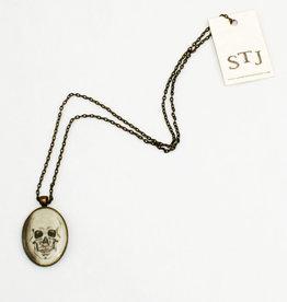 Sarah Taylor Jewelry Skull Pendant