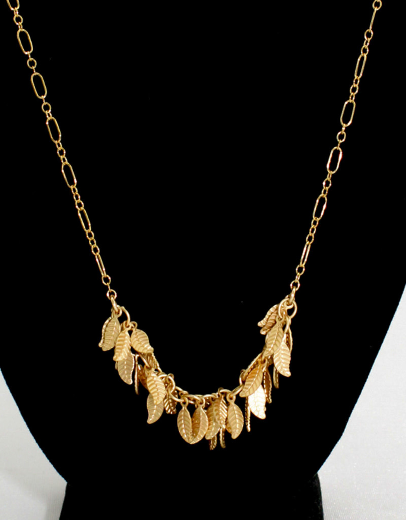 Stefanie Wolf Designs Gold Leaf Collection Petite Necklace