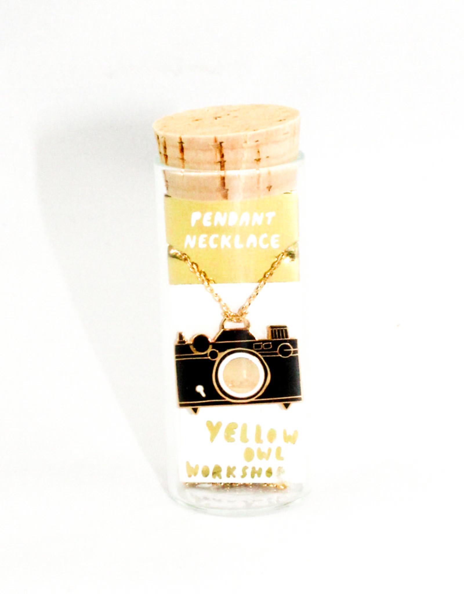 Yellow Owl Workshop Camera Pendant