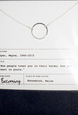 Becoming Jewelry Karma Necklace