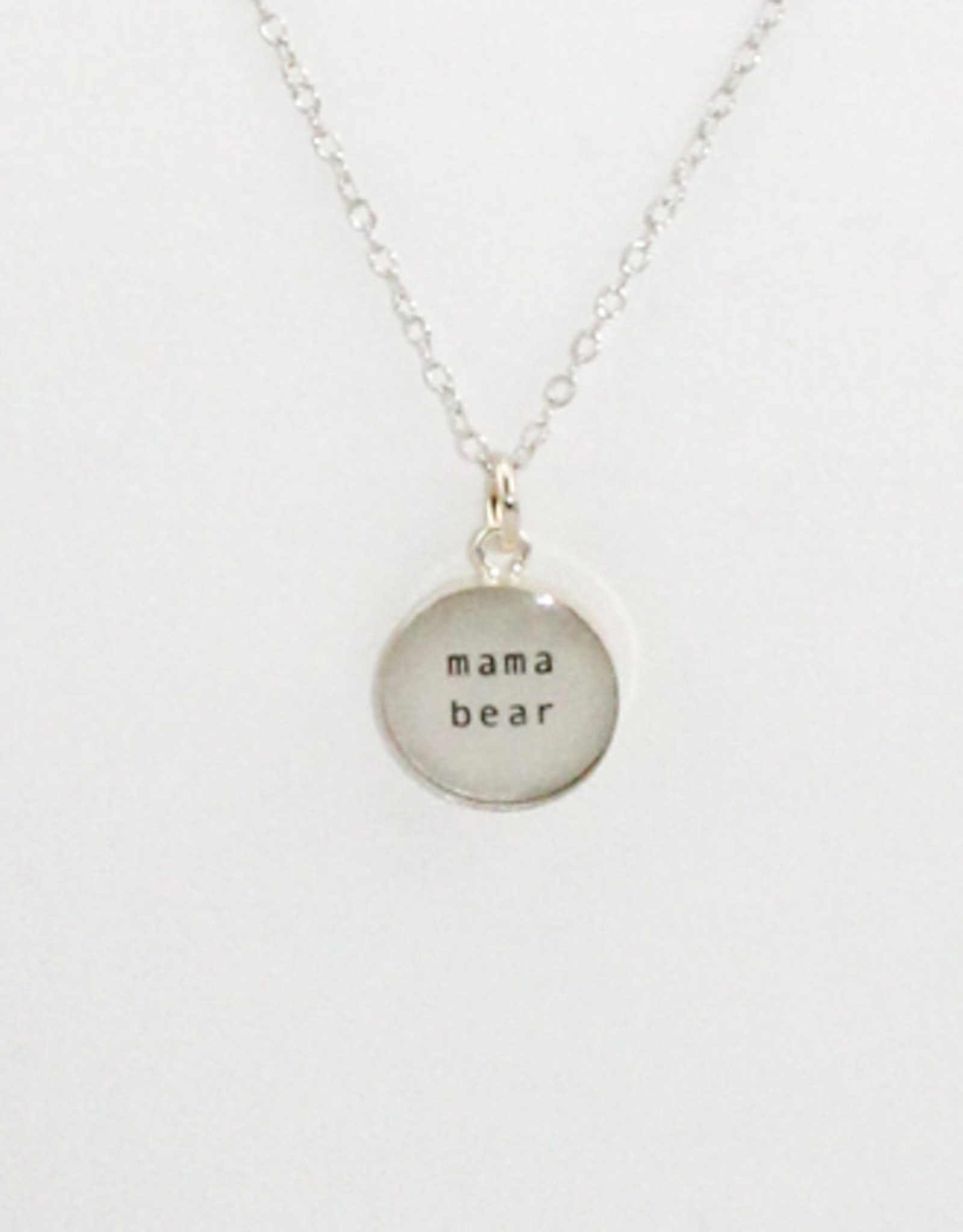 Everyday Artifacts Mama Bear Necklace