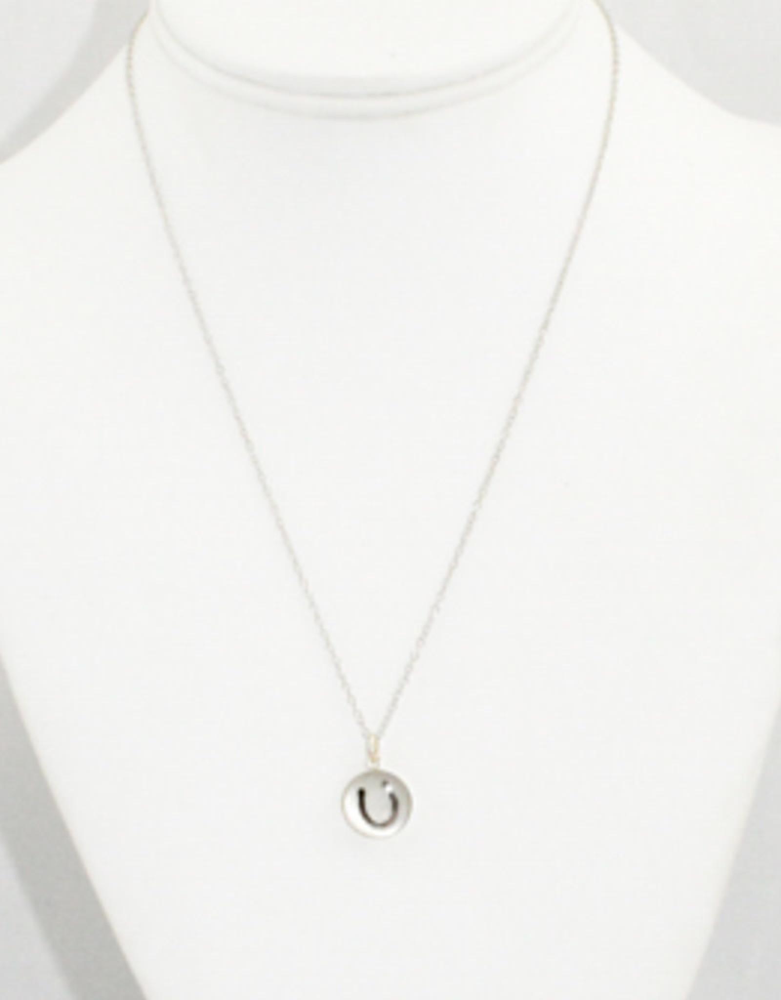 Everyday Artifacts Horseshoe Necklace