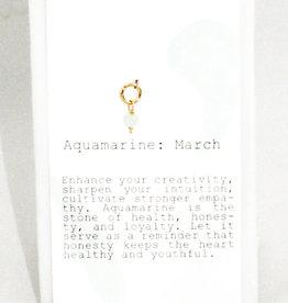 Kozakh March Aquamarine Pendant