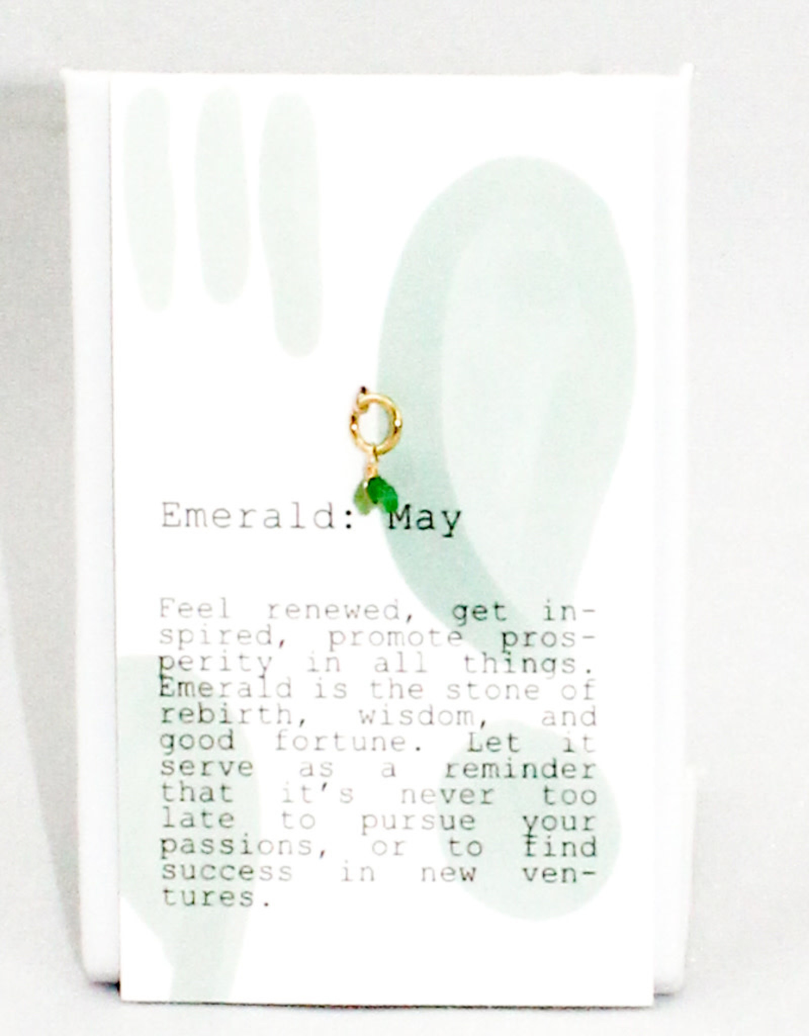 Kozakh May Emerald Pendant