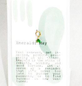 Kozakh May Emerald Pendant