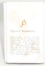 Kozakh November Imperial Topaz Pendant