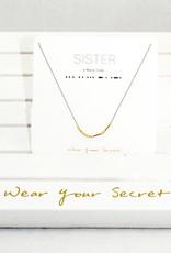 Little Be Design Sister Necklace