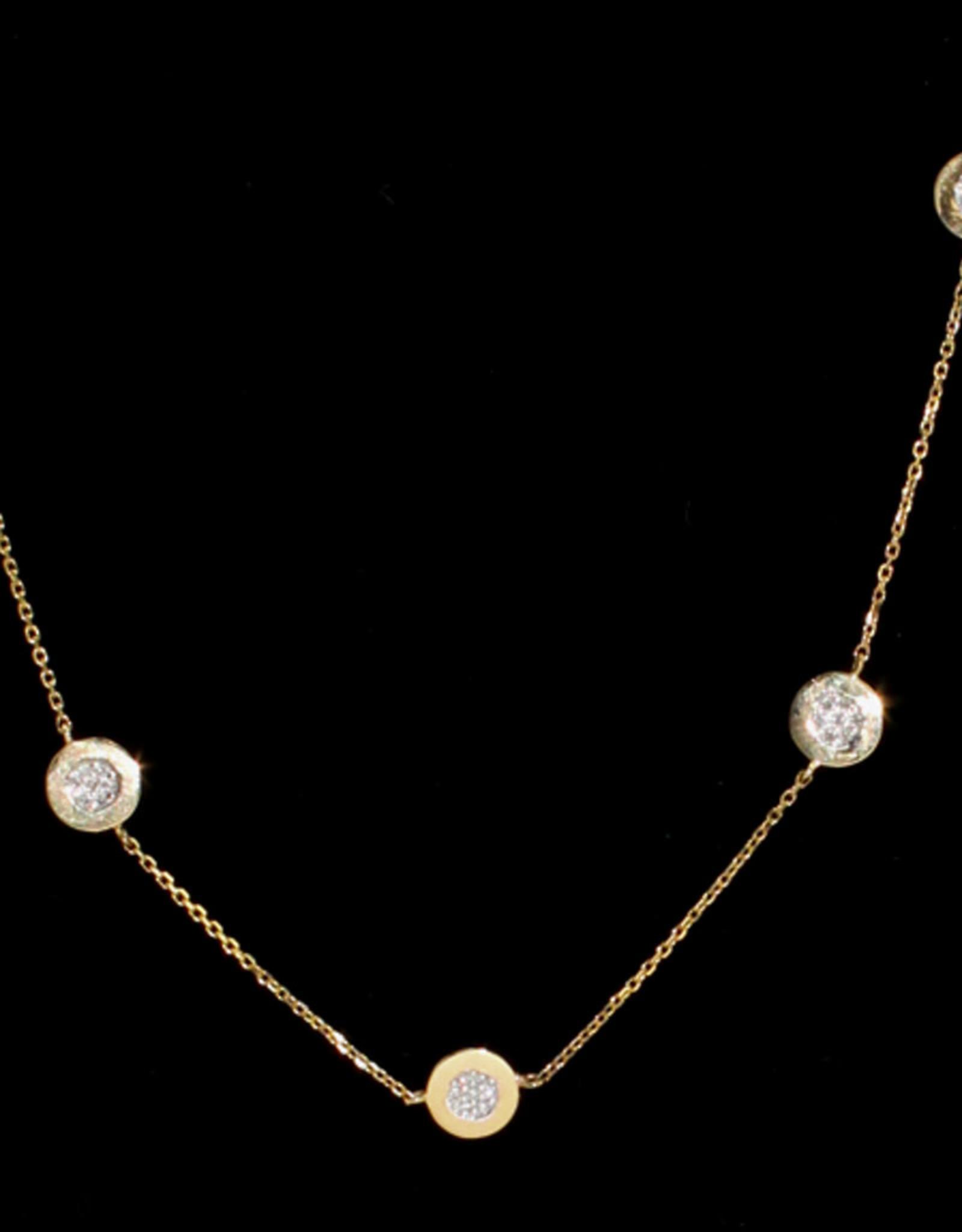 Alef Bet By Paula Circle Necklace