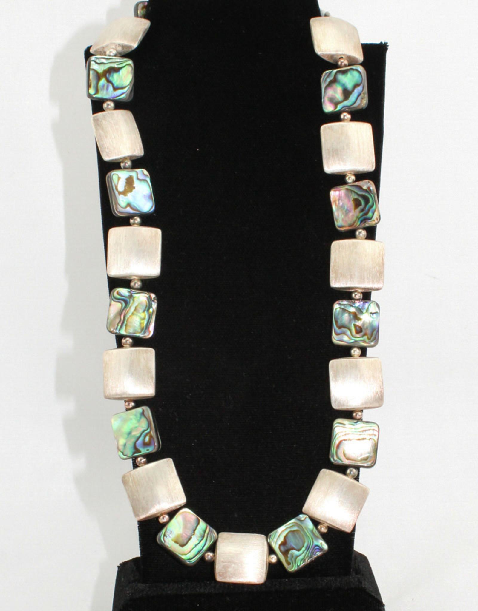 Naomi Jewelry Abalone Necklace