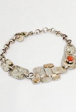 Nick DeDo Jewelry Silver Maple Bracelet