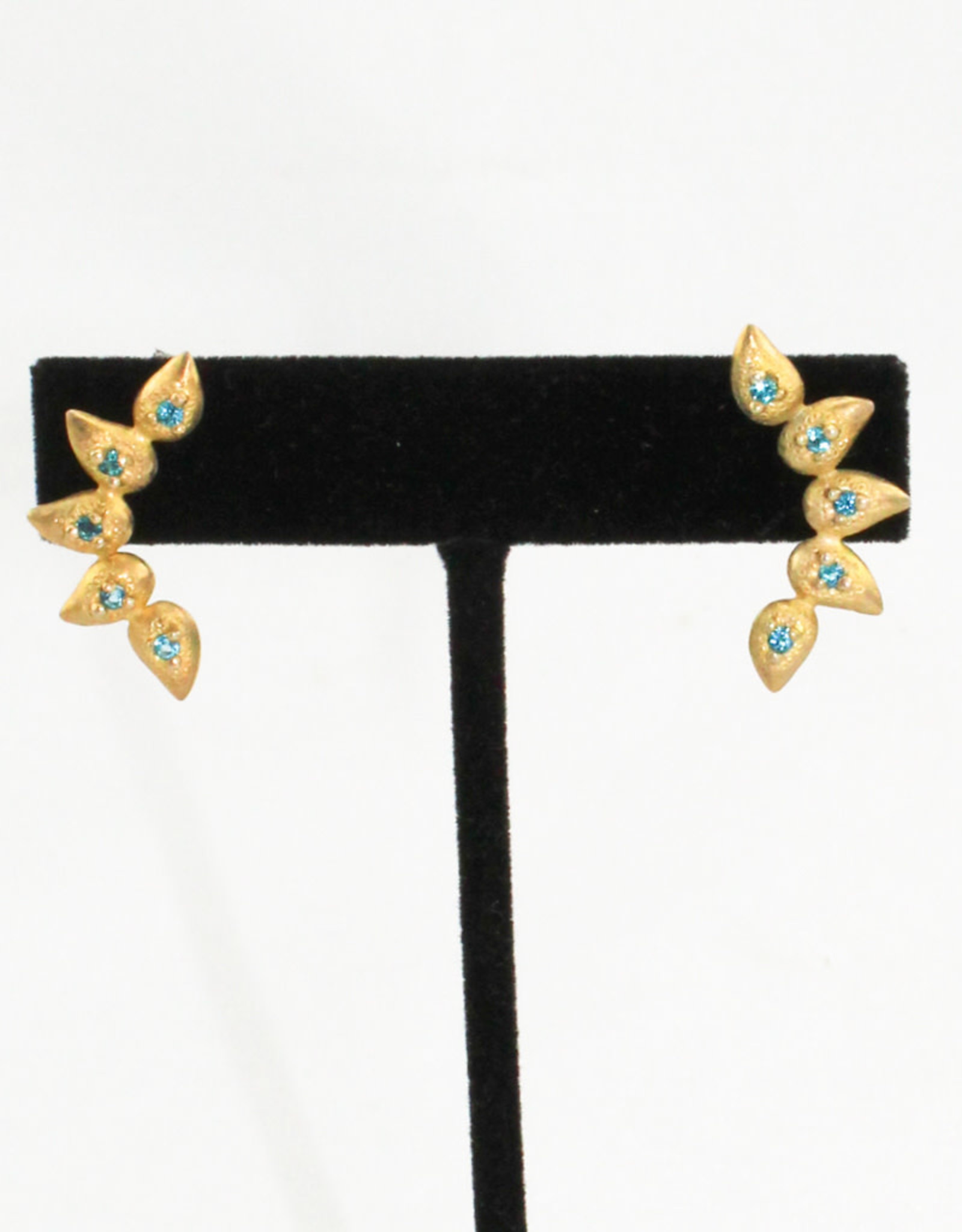 Ornatem Gold & Gemstone Earrings