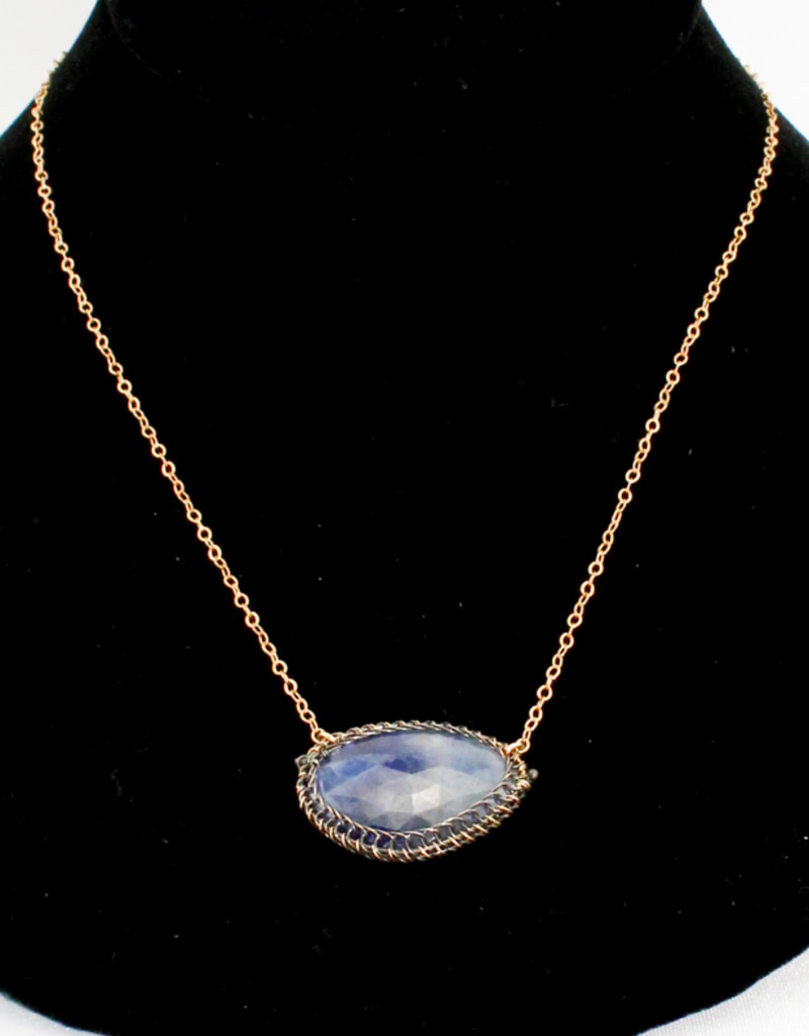 Ornatem Sapphire Necklace