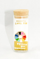 Yellow Owl Workshop Color Wheel Pin
