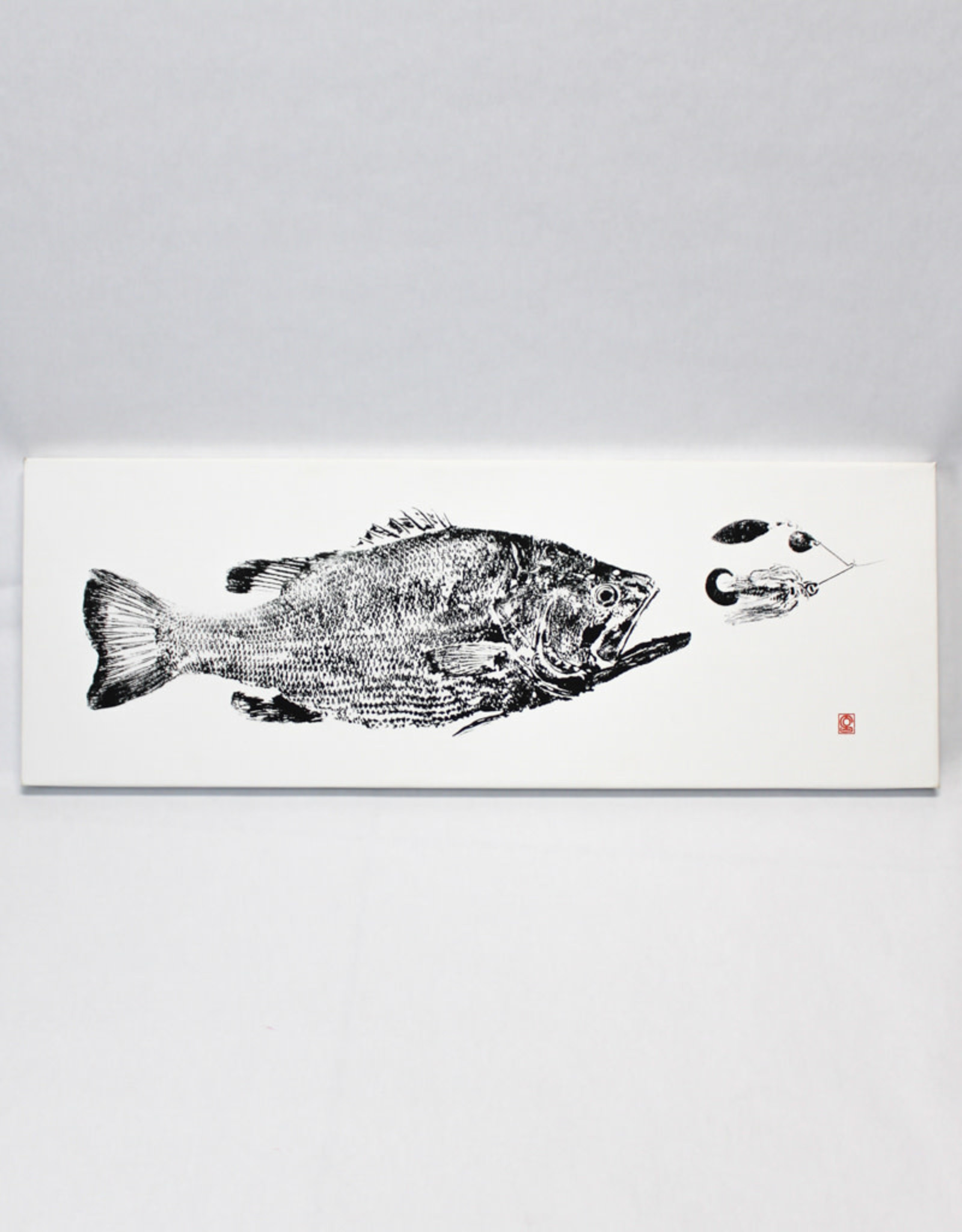 Reel Prints Largemouth Bass