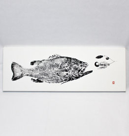 Reel Prints Largemouth Bass