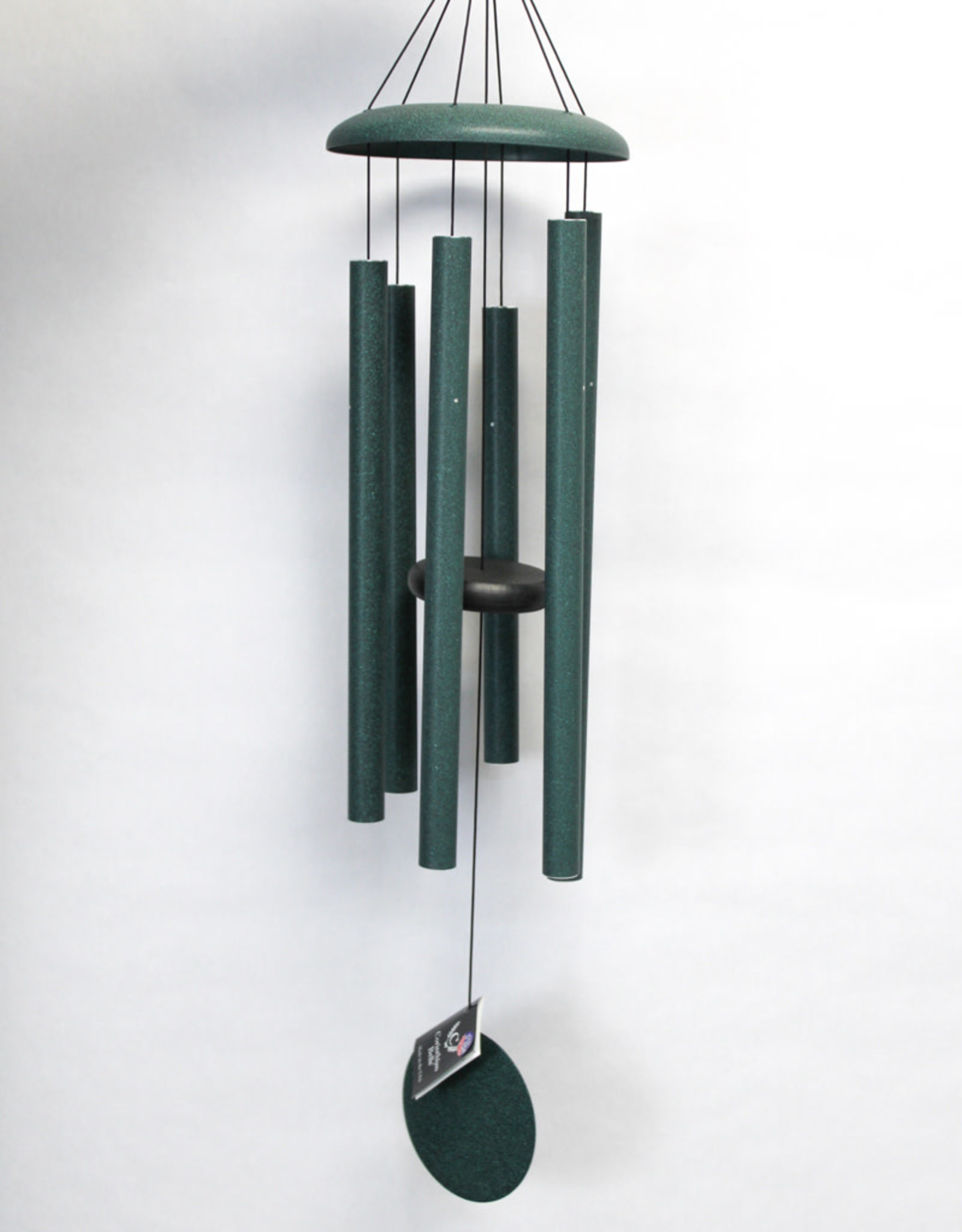 QMT Windchimes 36'' Green Chime