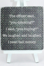 Paisley & Parsley Bail Money Coaster