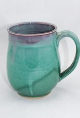 Jason Silverman Ceramics Wide Mug-Green