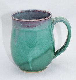 Jason Silverman Ceramics Wide Mug Green