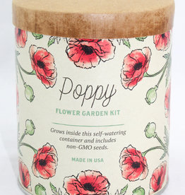 Modern Sprout Poppy Waxed Planter