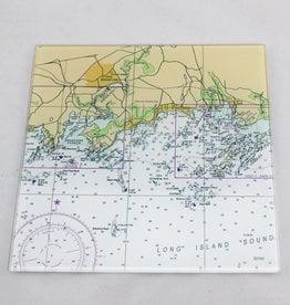 "Screen Craft Tile Works Branford 8"" Glass Cutting Board"