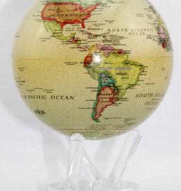 Mova International Political Map Yellow 4.5