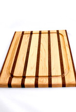 Soundview Millworks Medium Carving Board-Multi Stripe