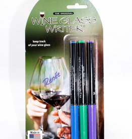 Wine Glass Writers USA Made 3 pack