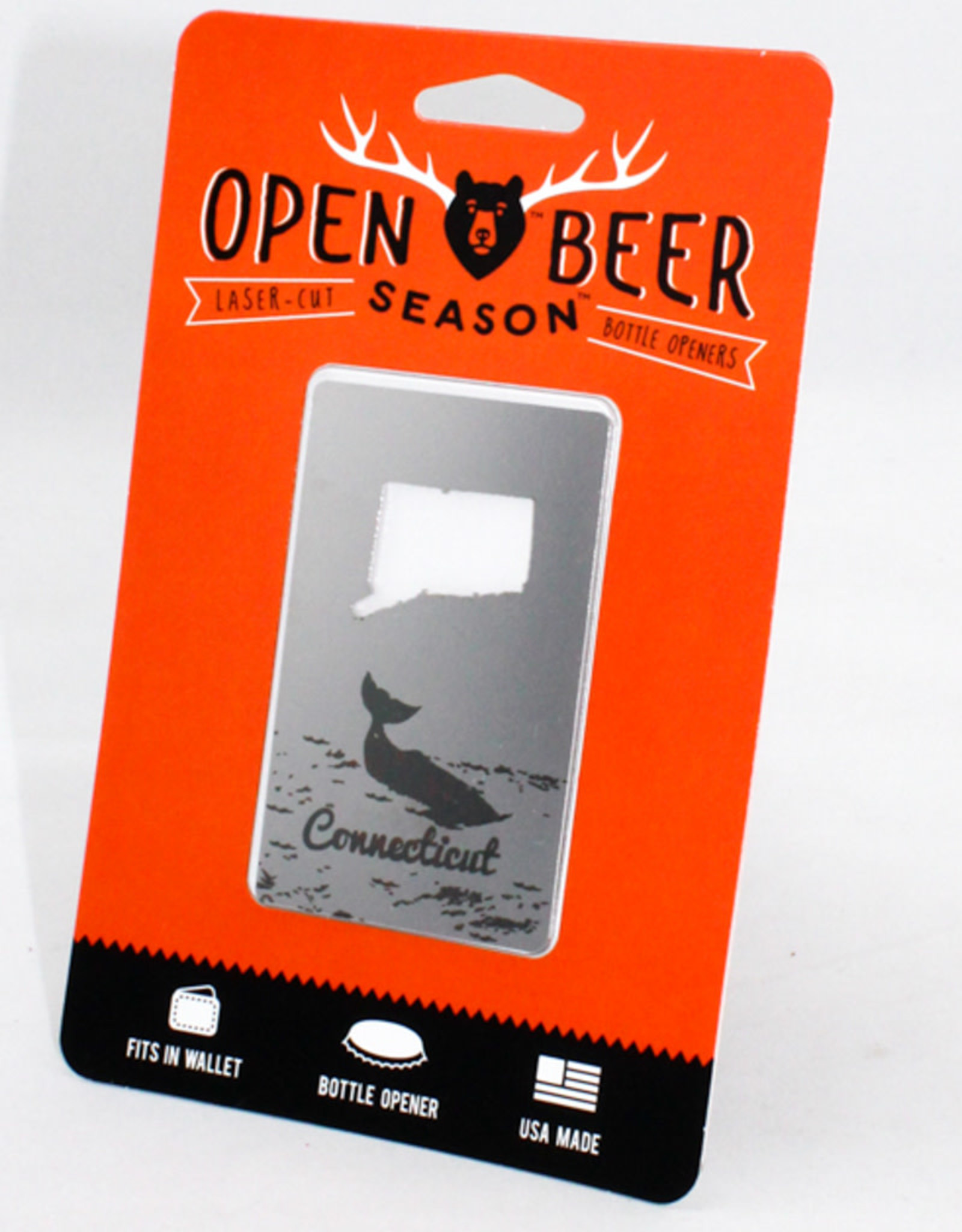 Zootility Tools Open Beer Season CT Card
