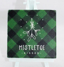 Paisley & Parsley Mistletoe Kisses Green FF 019G