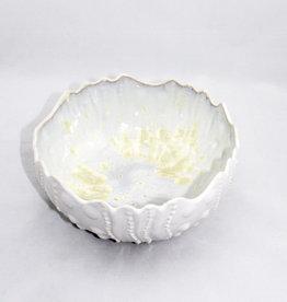 Alison Evans Ceramics Sea Urchin Bowl Medium: Pearl