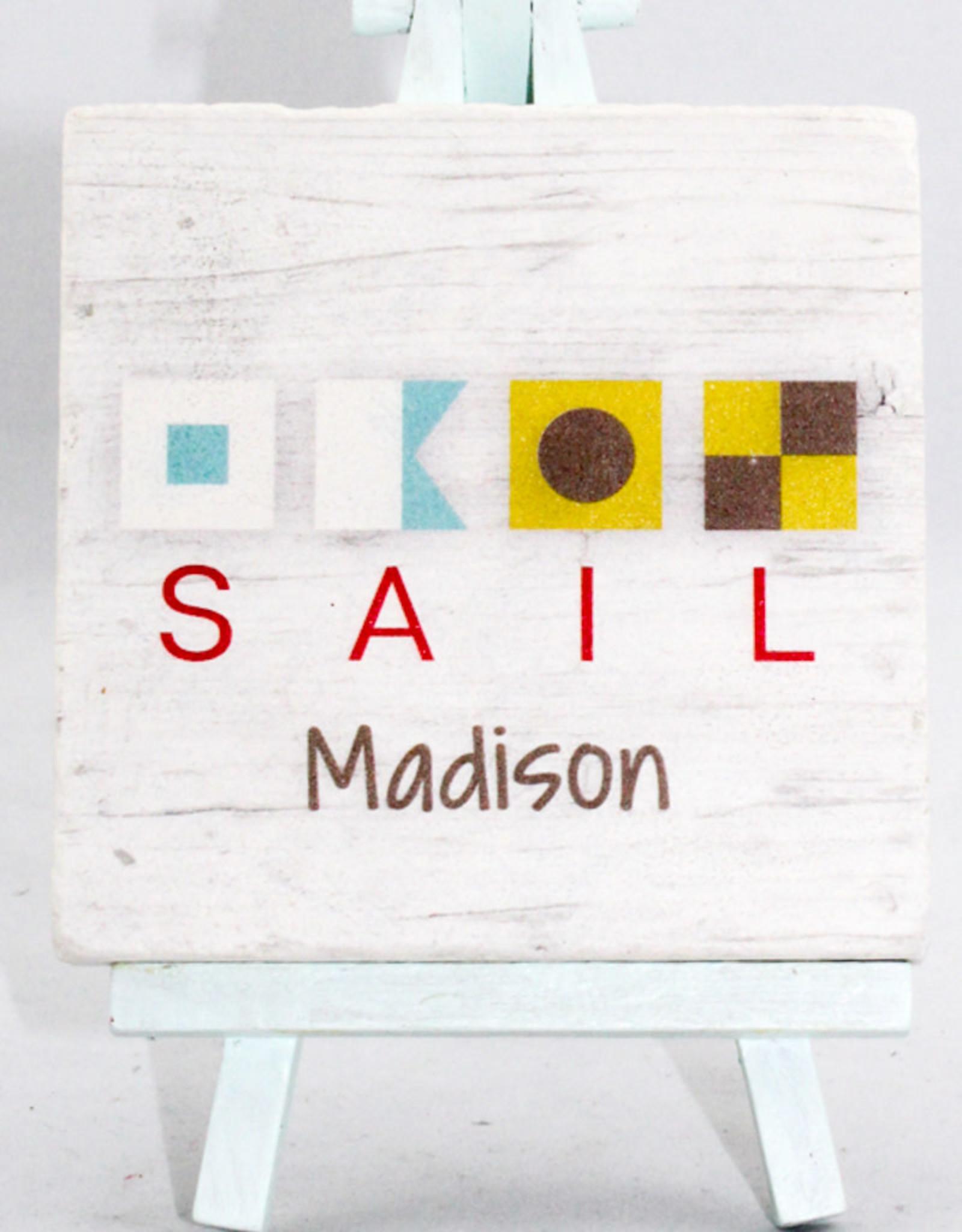 Paisley & Parsley Sail Coaster