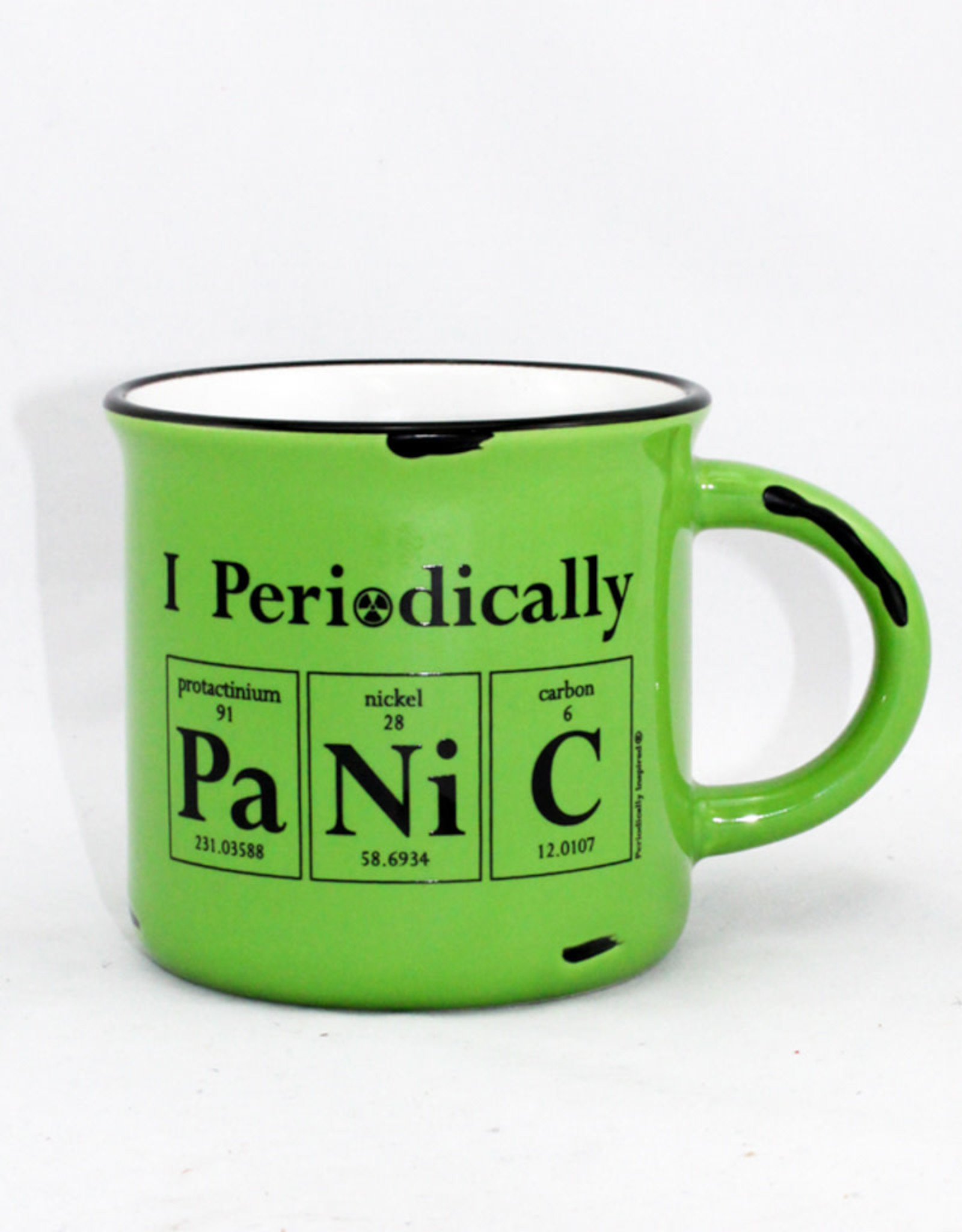Periodically Inspired Mug-I Panic Periodically