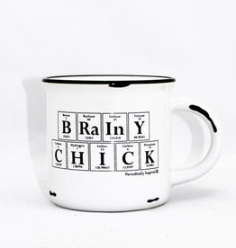 Periodically Inspired Brainy Chick Mug