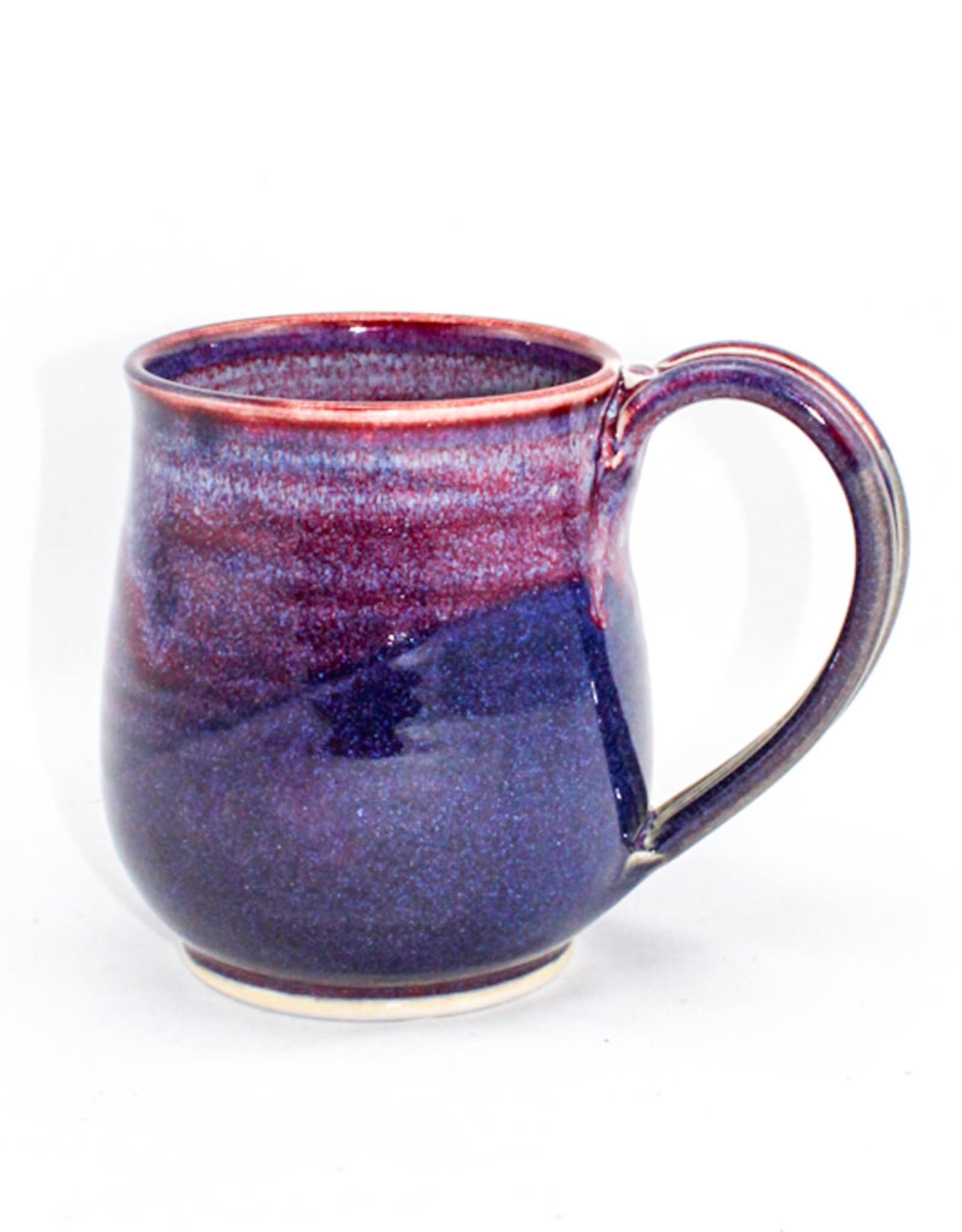 Jason Silverman Ceramics Wide Mug-Purple