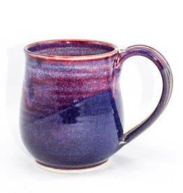 Jason Silverman Ceramics Wide Mug Purple