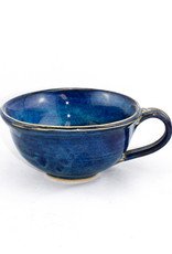 Jason Silverman Ceramics Chowder Mug-Water Blue