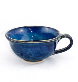 Jason Silverman Ceramics Chowder Mug Water Blue