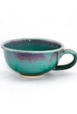 Jason Silverman Ceramics Chowder Mug-Green
