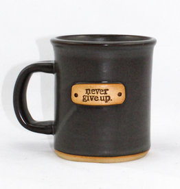 Mud Love Never Give Up Mug