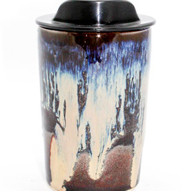 HeartMoss Pottery 12oz. Northern Lights Travel