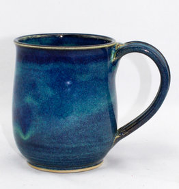 Jason Silverman Ceramics Short Mug Water Blue