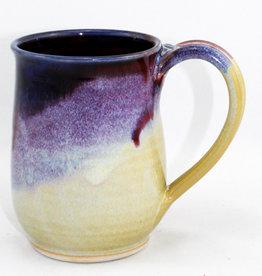 Jason Silverman Ceramics Short Mug Berries & Cream