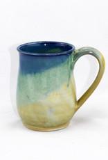 Jason Silverman Ceramics Short Mug-Jade Sky