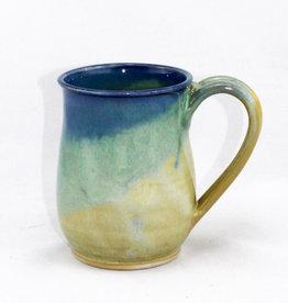 Jason Silverman Ceramics Short Mug Jade Sky